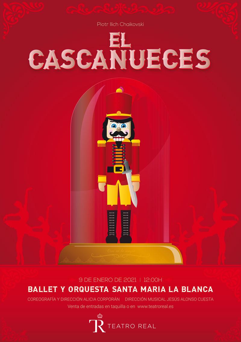 El cascanueces Teatro Real Colegio Santa María La Blanca